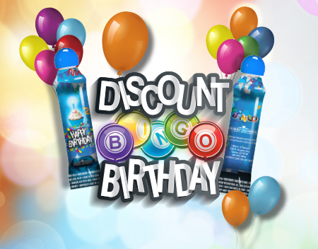 BINGO DISCOUNT BIRTHDAY