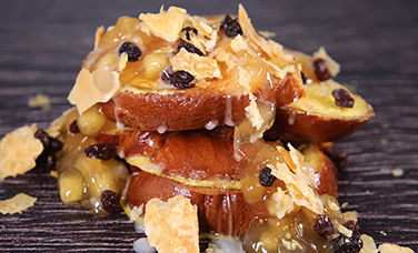 $5 Apple Strudel French Toast