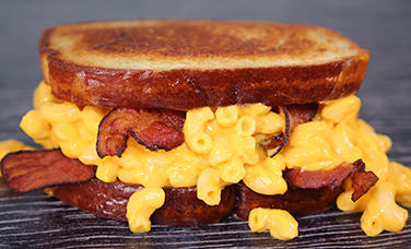 $6 Grilled Bacon Mac & Cheese Sandwich