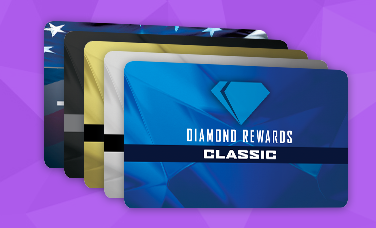 Diamond Rewards Card