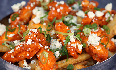 $5 Buffalo Chicken  BlUE Cheese Fries