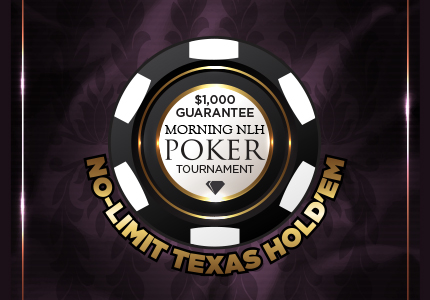 Morning No-Limit Texas Hold'em Poker Tournament