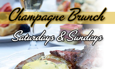 Saturday & Sunday Champagne Brunch
