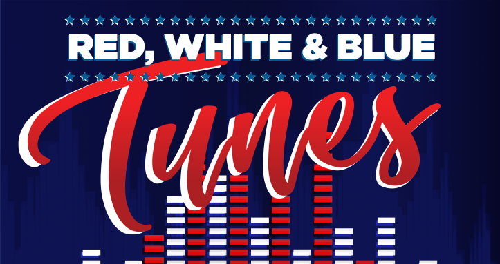 Red, White & Blue Tunes