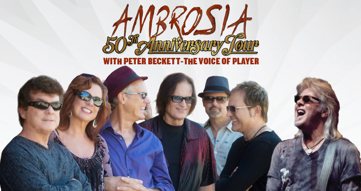 Ambrosia with Special Guest Peter Beckett of Player