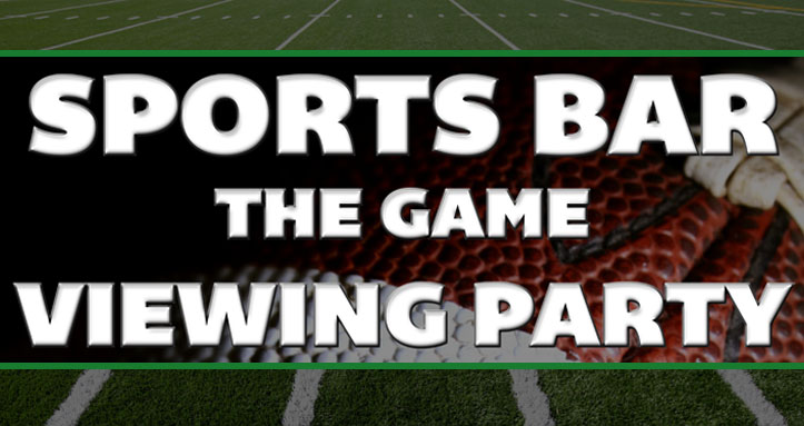 Sports Bar – The Game Viewing Party