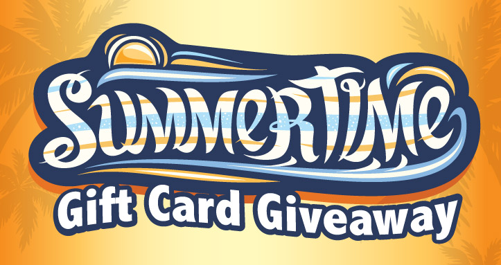 Summertime Gift Card Giveaway