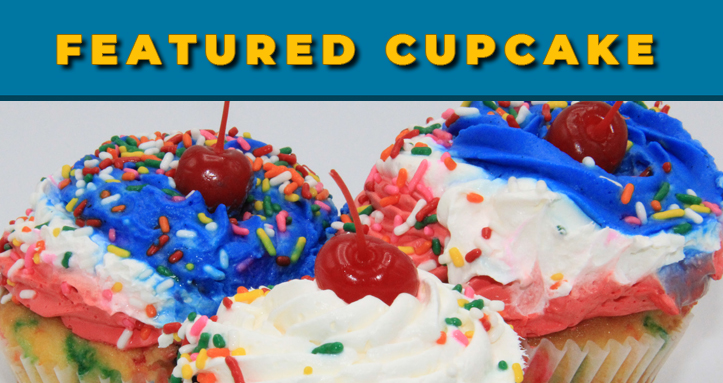Diamond Grill Features - Featured Cupcake