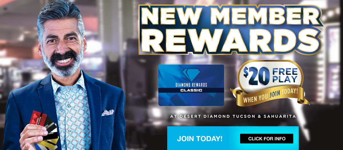 Desert Diamond Casino Free Play