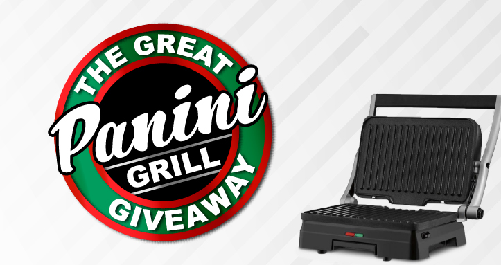 The Great Panini Grill Giveaway